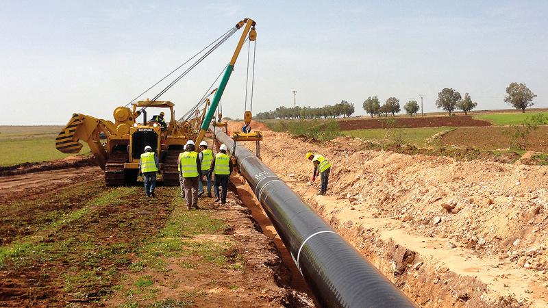 OCP Khouribga to Jorf Lasfar Phosphate Pipeline Project