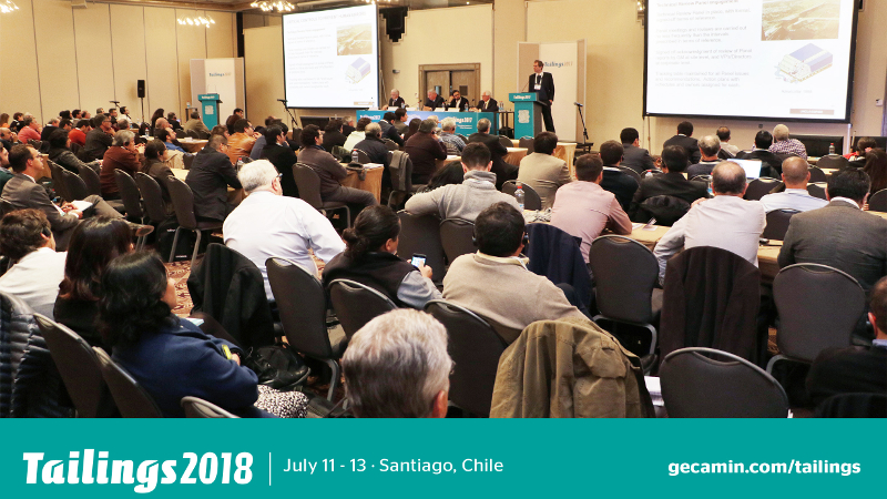 TAILINGS 2018 : Santiago, Chile