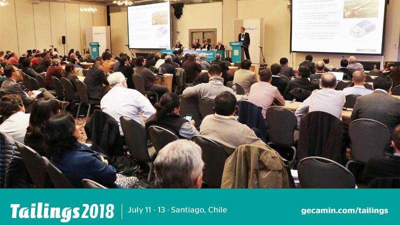 TAILINGS 2018 : Santiago, Chile