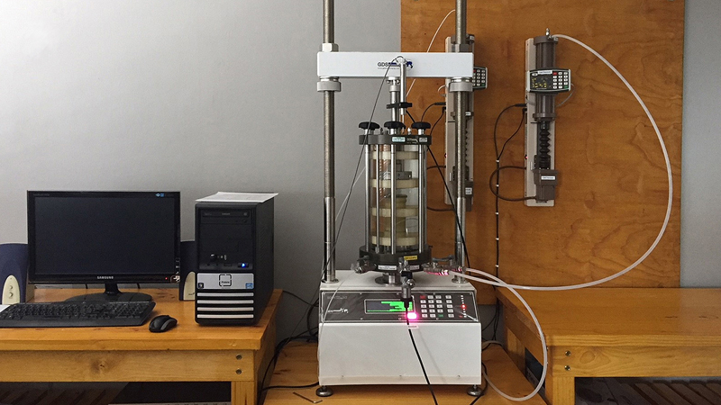 Triaxial Test Work Capability